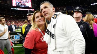 Urban Meyer's Wife Quits Twitter Days After Lap Dance Video Goes Viral