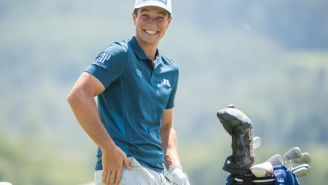 Viktor Hovland Has Epic Response When Asked If He's Been Working Out Lately