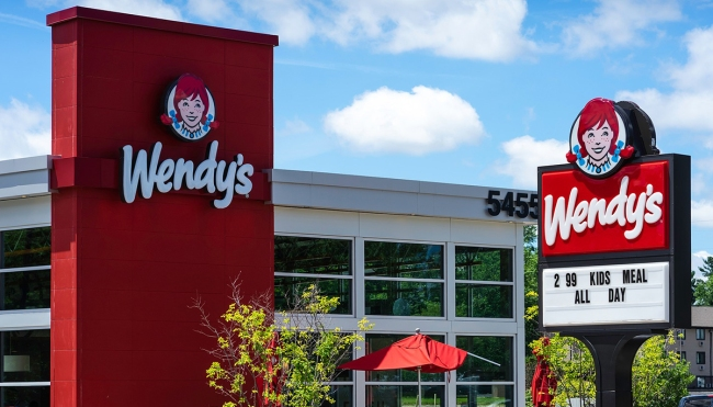 Wendy's chocolate Frosty breakfast cereal
