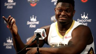 Social Media Reacts To Report Of Zion Williamson Having 'Noted Weight Issues'